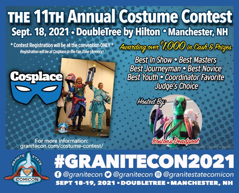 Granitecon 2021 costume contest