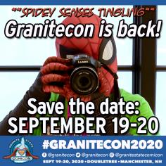 *Granitecon 2020 announcement GRANITECON