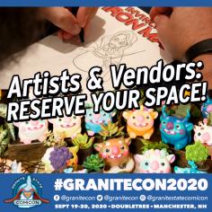 *Granitecon 2020 announcement TABLES