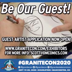 Granitecon 2020 guest artist