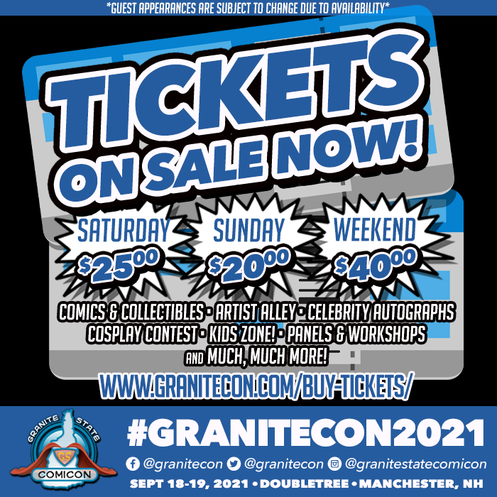 Granitecon 2021 tickets