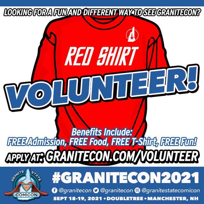 Granitecon 2021 Volunteer